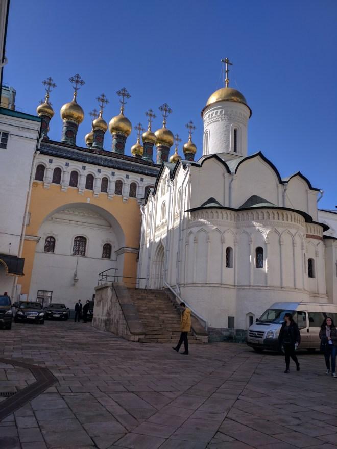 Kremlin Moscou igreja da deposição das vestes