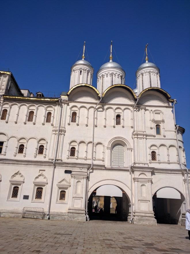 Kremlin Moscou igreja dos doze apostolos e palacio do patriarca