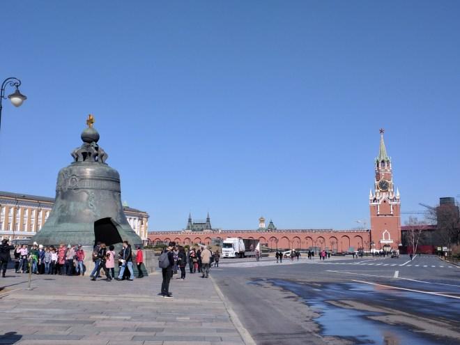 Kremlin Moscou sino tsar