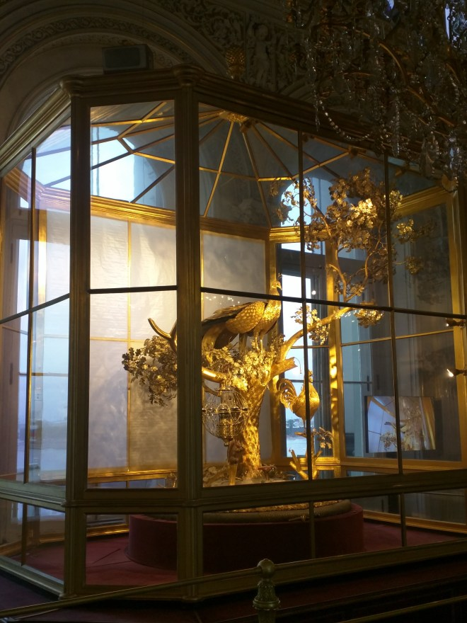 Petersburgo Hermitage relógio do avão