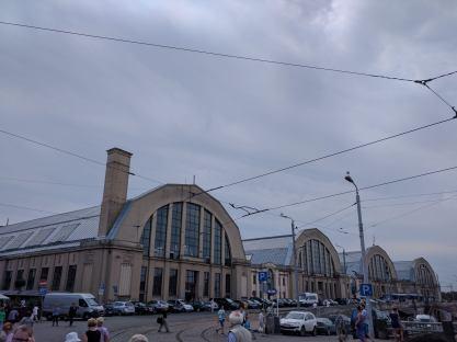 Letonia Riga galpão de zepelim