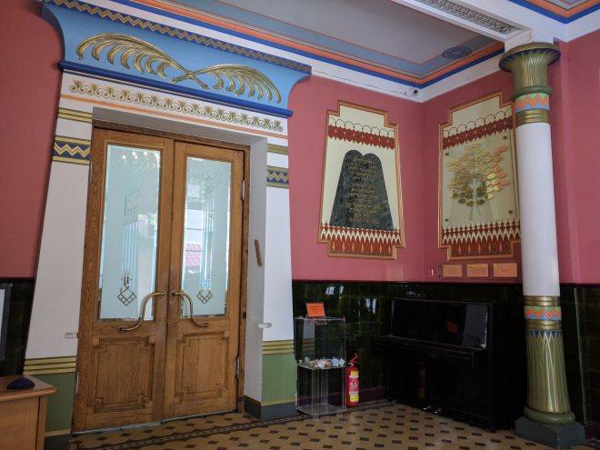 Riga Letonia art nouveau sinagoga 2