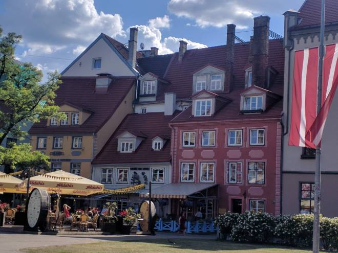 Riga Letonia casas
