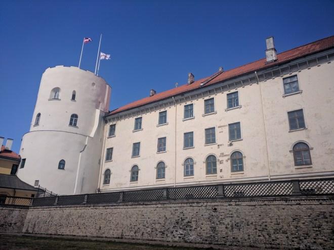 Riga Letonia castelo