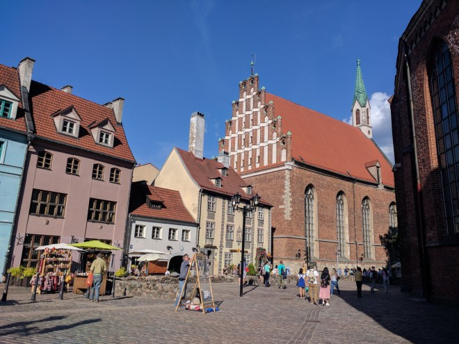 Riga Letonia igreja de sao joão