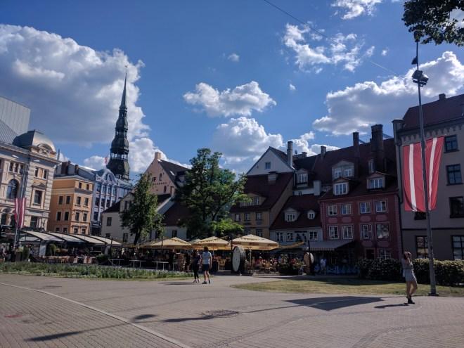 Riga Letonia pracinha