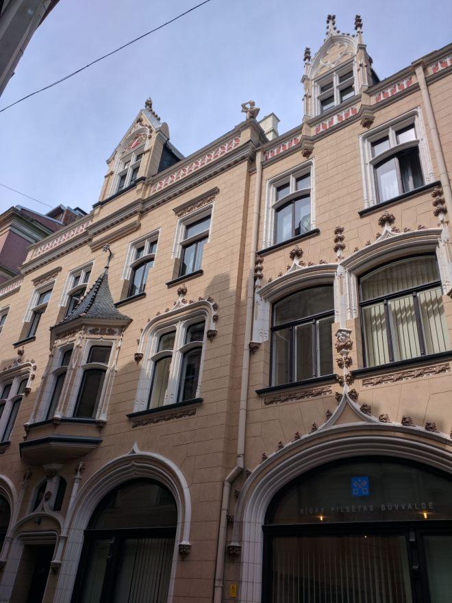 Riga Letonia predio na cidade velha