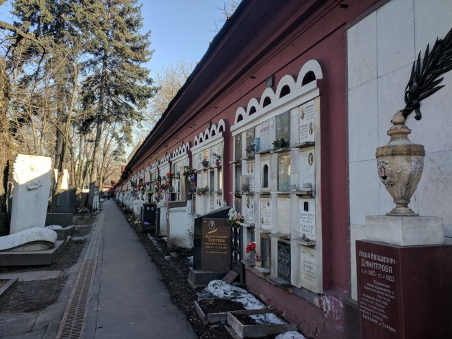 Moscou cemiterio Novodevichi jardim das cerejeiras