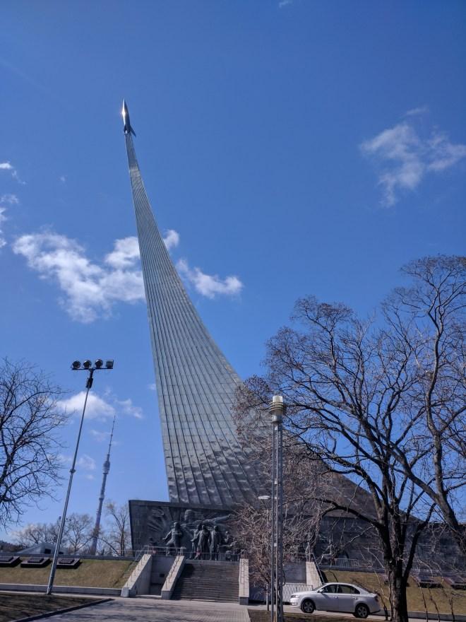 Moscou museu dos cosmonautas 1