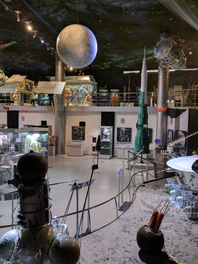 Moscou museu dos cosmonautas 2