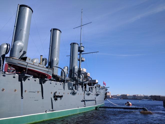 roteiro revolução russa petersburgo cruzador aurora