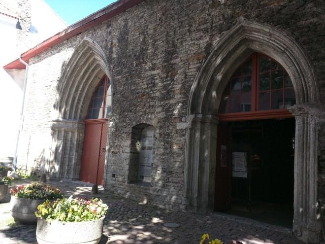 Tallinn centro historico igreja de santa catarina