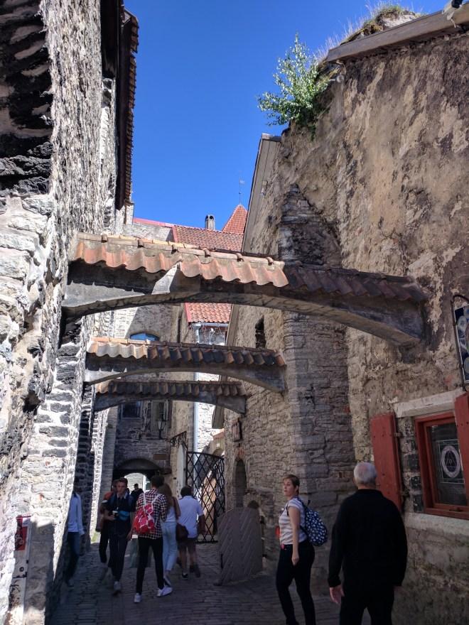 Tallinn centro historico passagem de santa catarina 2