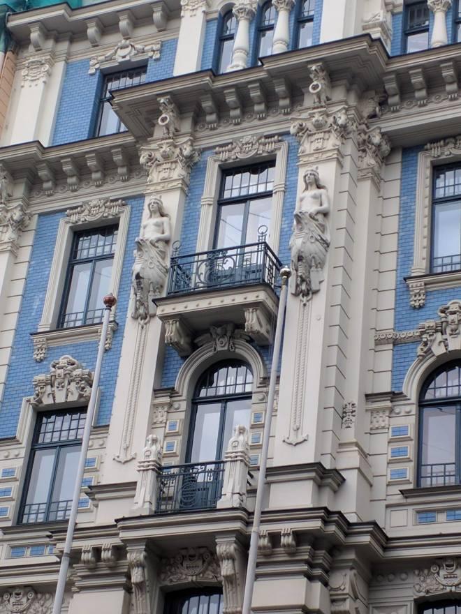 Letonia Riga Centro quieto bairro art nouveau 3