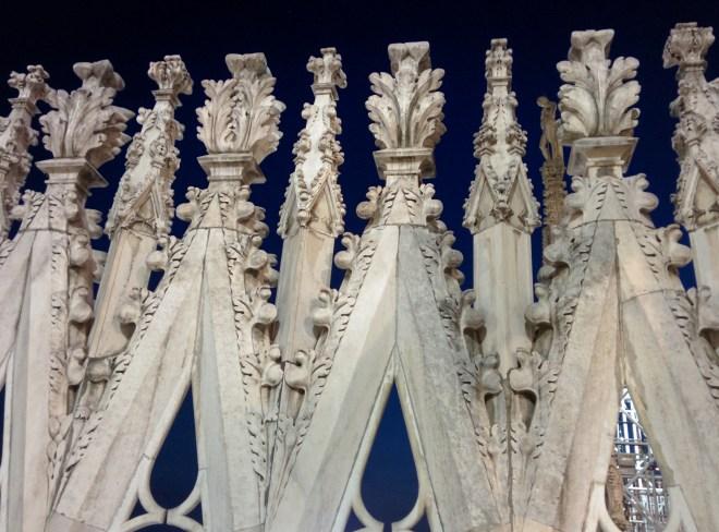 Milão Duomo terraços 7