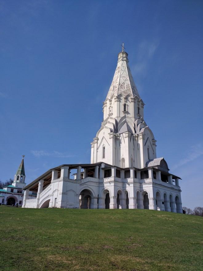 Moscou parque Kolomenskoye igreja da ascenção patrimonio unesco 2