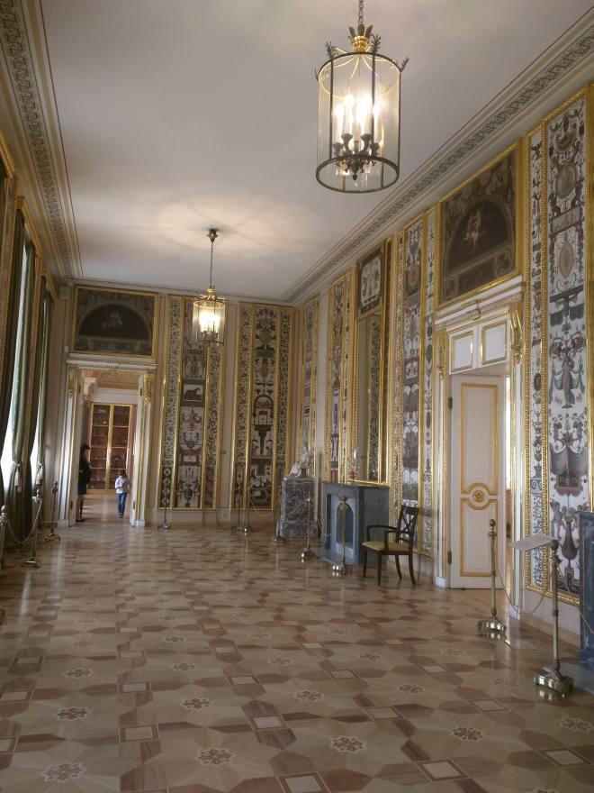Petersburgo museu russo palacio stroganov salas pintadas