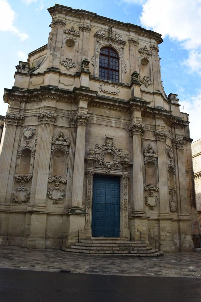 Puglia Lecce chiesa di santa chiara