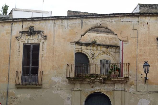 Puglia Lecce fachadas