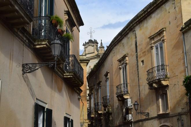 Puglia Lecce ruas igrejas
