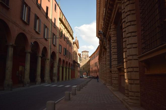 Bologna Porticos san vitale