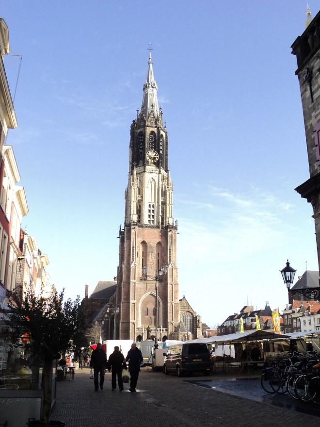 delft nieuwe kerk praça mercado 2
