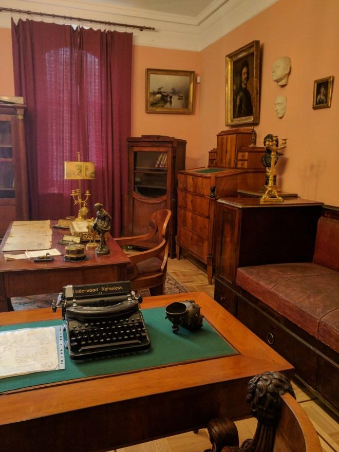 Moscou apartamento Aleksei Tolstoi escritor 2