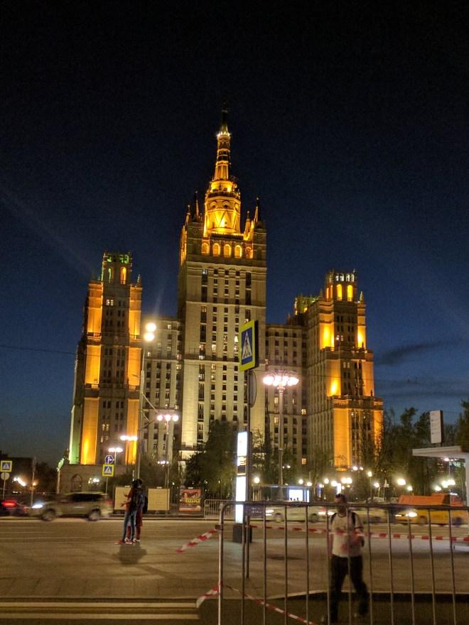 Sete irmãs arranha ceus moscou stalin predio apartamentos kudrinskaia
