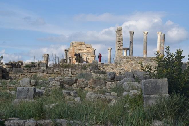Volubilis ruinas romanas Marrocos 2