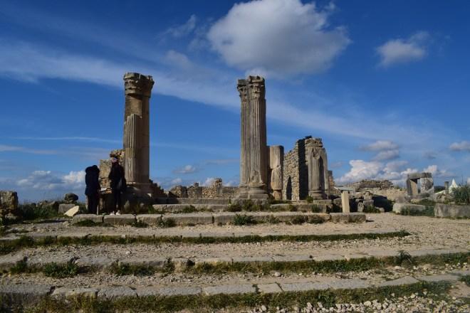Volubilis ruinas romanas Marrocos 3