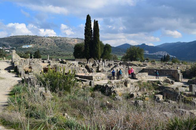 Volubilis ruinas romanas Marrocos casa de Orfeu 2