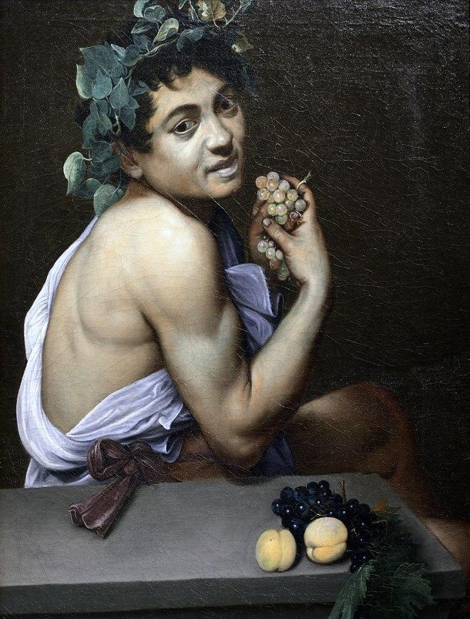 Onde ver Caravaggio em Roma galleria borghese jovem baco doente