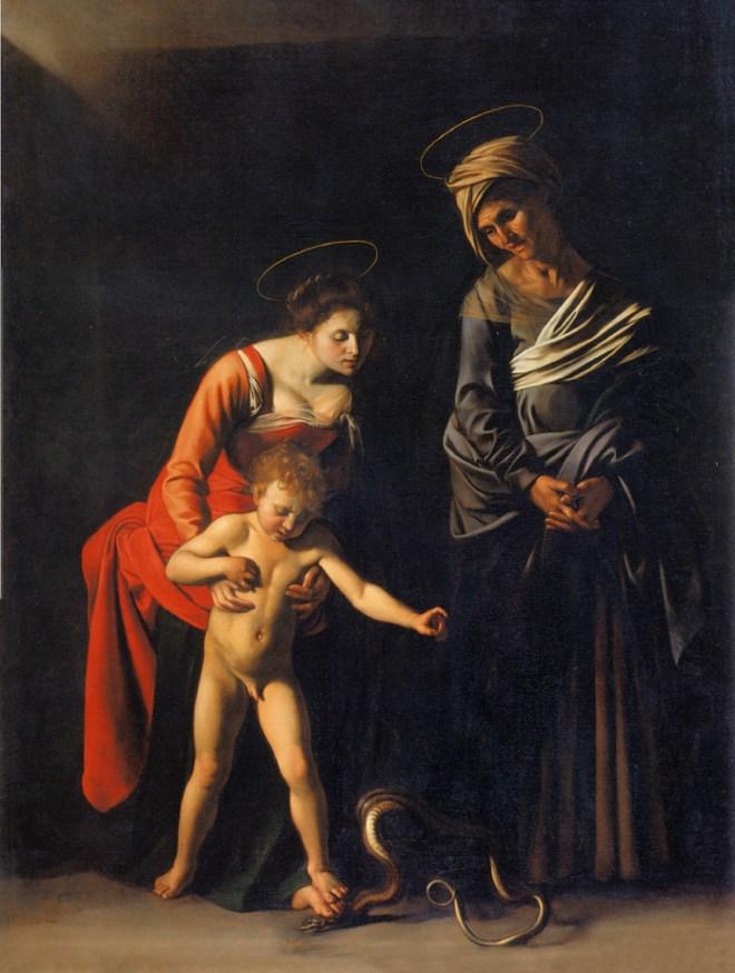 Onde ver Caravaggio em Roma galleria borghese madonna da serpente
