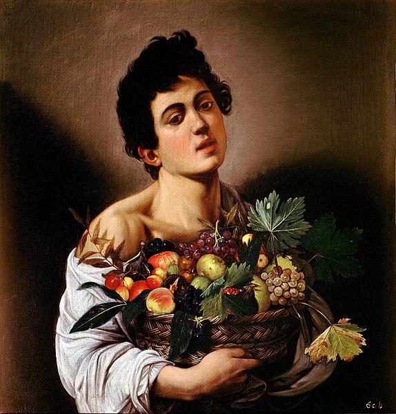 Onde ver Caravaggio em Roma galleria borghese menino com cesto de frutas