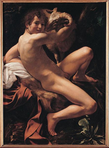 Onde ver Caravaggio em Roma musei capitolini jovem sao joao batista