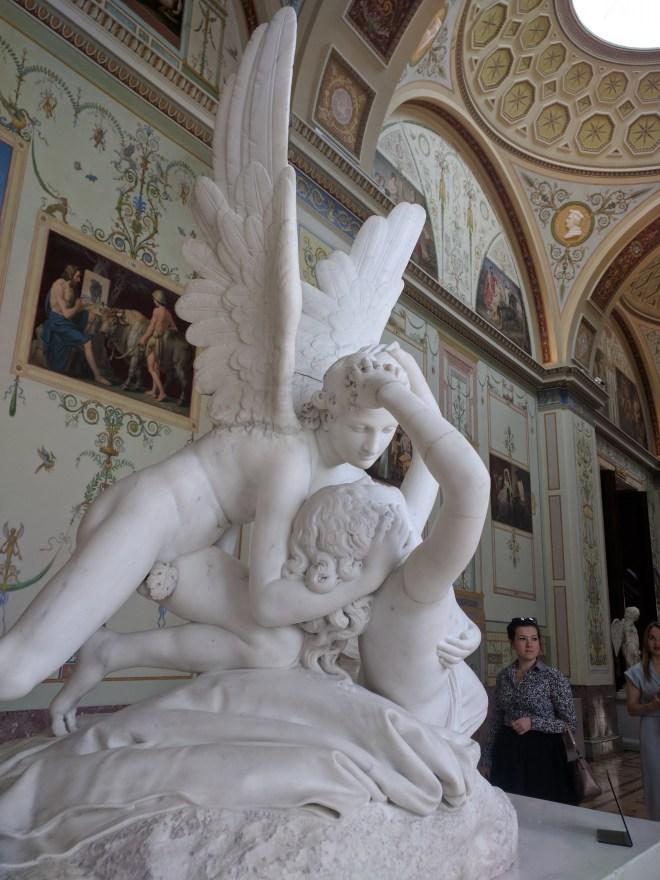 Hermitage pinacoteca estátua Canova