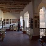 Ouarzazate Kasbah Taourirt exposição de arte