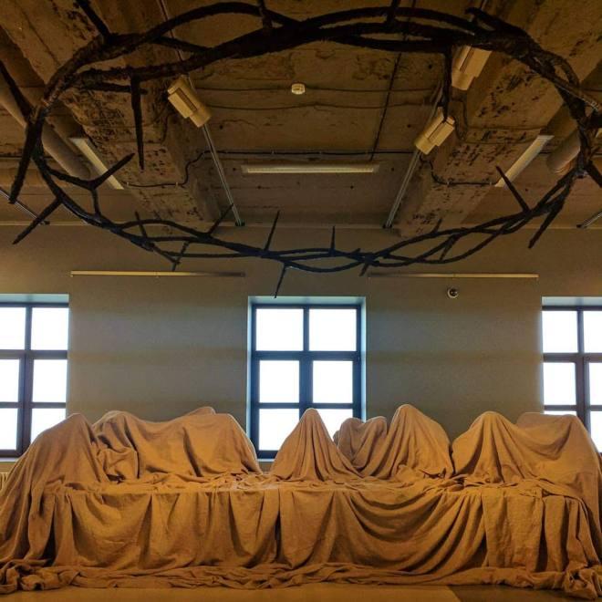 Russia Petersburgo Vassilievski museu de arte contemporanea russa erarta última ceia 2