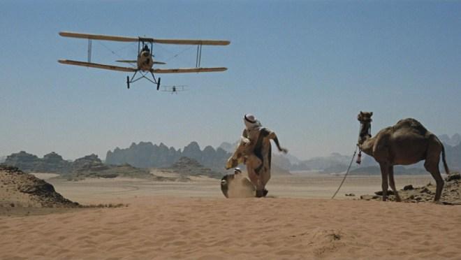 Lawrence arabia avião