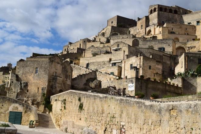 Matera sul itália zigzag casas