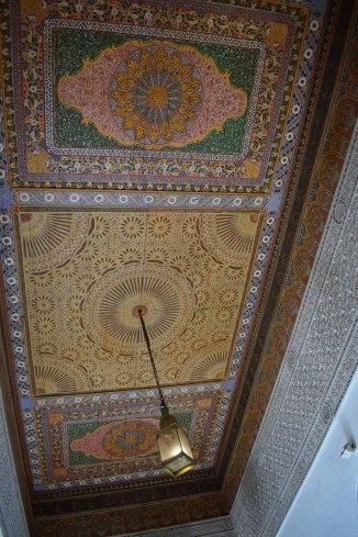 Marrakech palacio bahia teto 1