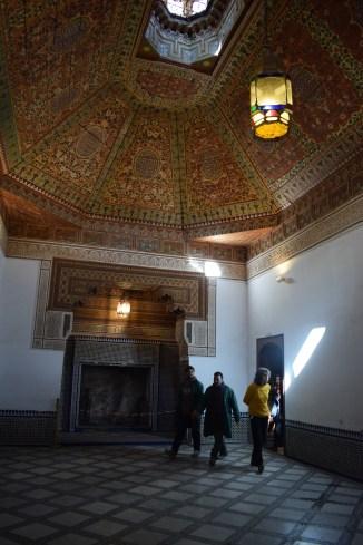 Marrakech palacio bahia teto 4