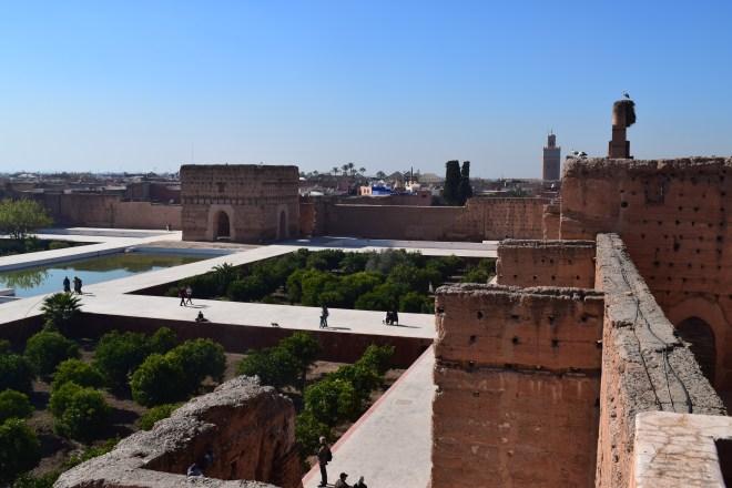 Marrakech palacio em ruinas el badi de cima