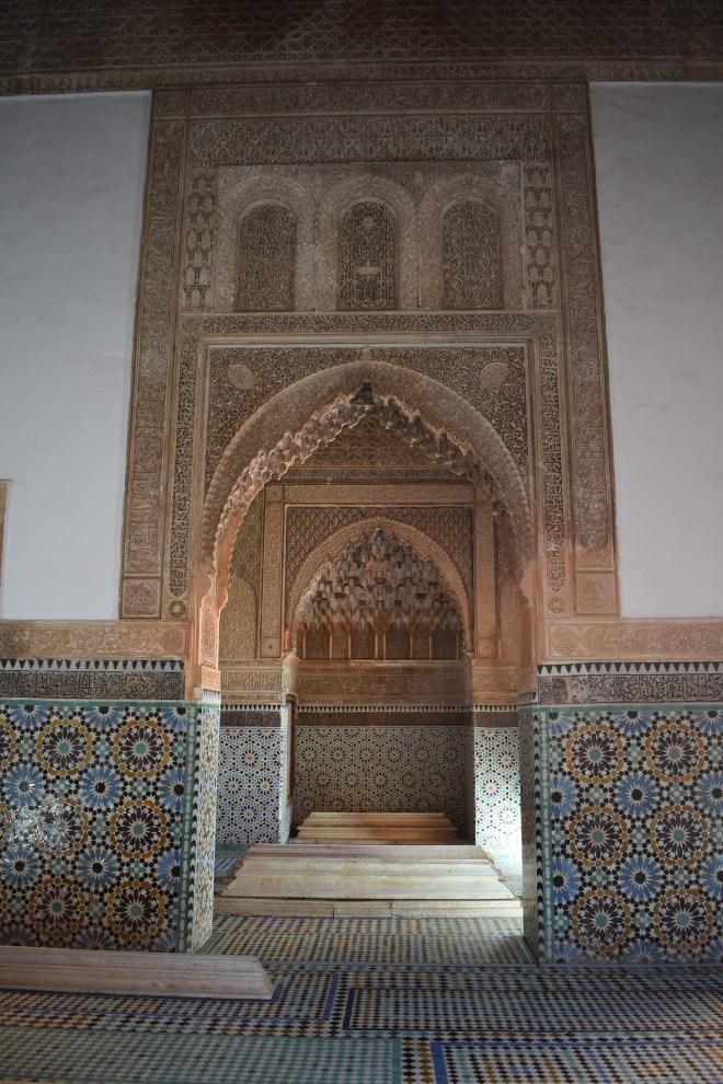 Marrakech tumulos saadianos arquitetura andalusia 4