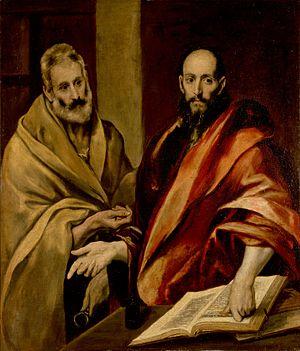 Hermitage pinacoteca destaques el greco apostolos pedro e paulo