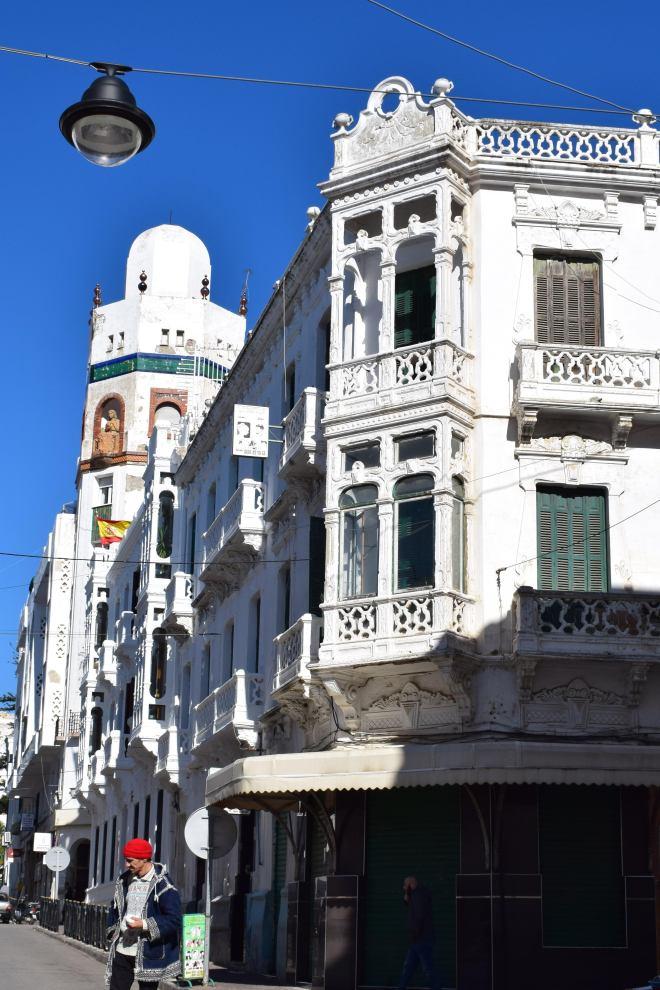 Marrocos Tetouan ensanche predios espanhois