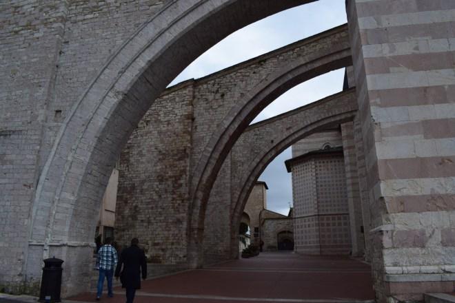Assis Umbria basilica santa chiara clara