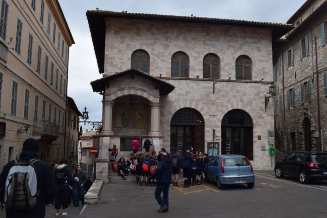 Assis Umbria piazza del comune praça principal 2