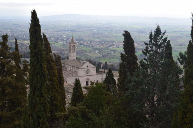 Assis Umbria Rocca maggiore castelo vista 3