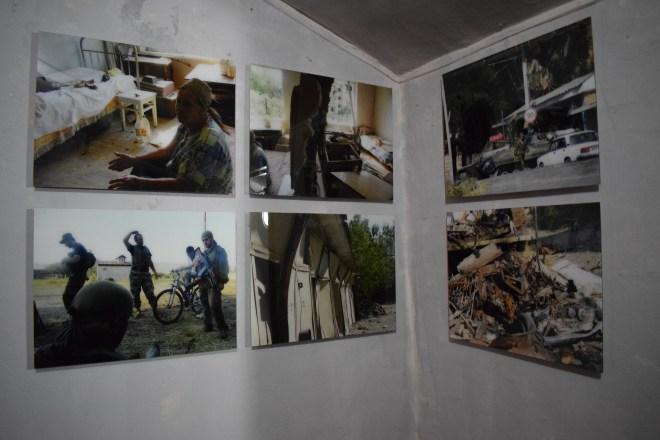 Georgia Gori museu stalin fotos da invasão russa 2008